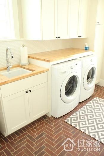 简约风格公寓效果图洗衣机