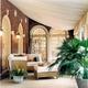 美式别墅装饰套图欣赏客厅休闲厅设计