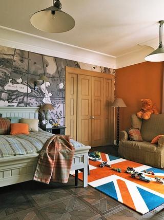 老公寓改造现代新住宅欣赏卧室