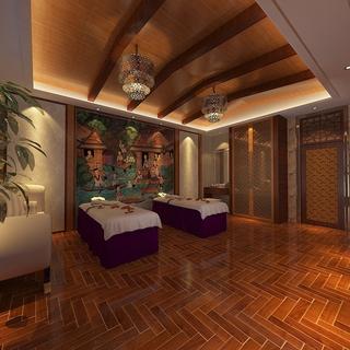 东南亚风情住宅欣赏卧室陈设设计