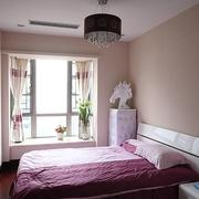 98平简约舒适三居室欣赏卧室飘窗