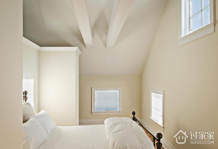 时尚欧式别墅装修图阁楼卧室