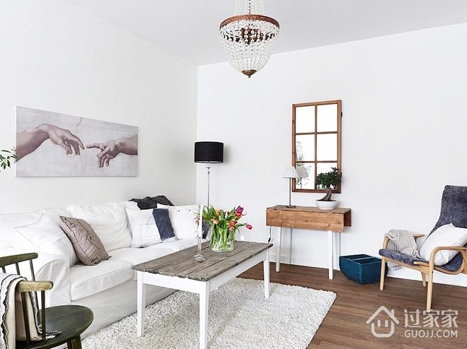 纯白小清新两居室欣赏