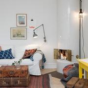 56平简欧住宅欣赏客厅设计