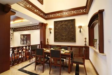 东南亚奢华装修餐厅