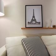 白色三居现代风格效果图沙发背景