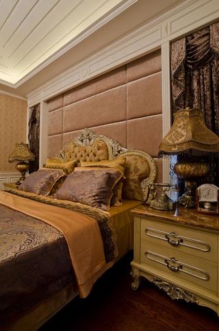 300平豪华法式别墅欣赏卧室陈设