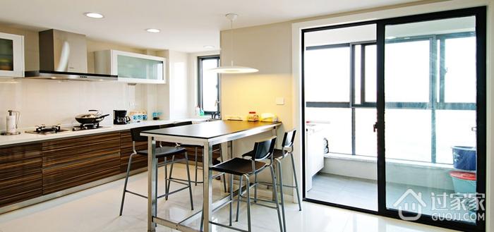 现代时尚开放式厨房设计