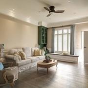 82平美式复式楼欣赏客厅设计