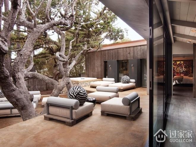 现代创造性别墅欣赏庭院设计