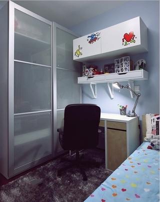 87平简约三居室案例欣赏儿童房效果