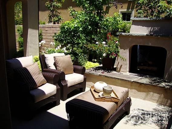 温馨住宅家居设计欣赏露台