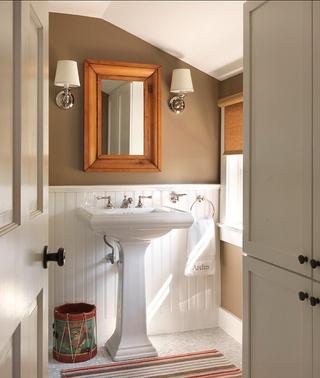 活力度假美式别墅欣赏洗手间