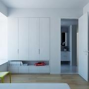 白色现代风格设计案例欣赏卧室飘窗