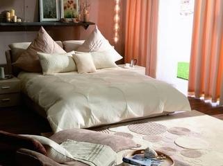 简约春天气息住宅欣赏卧室背景墙