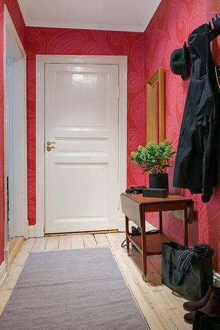 平创意活力北欧住宅欣赏过道效果
