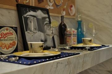 现代新古典风吧台茶具
