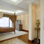 欧式风格效果套图卧室背景墙