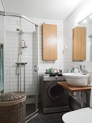 整洁优雅宜家风格欣赏卫生间