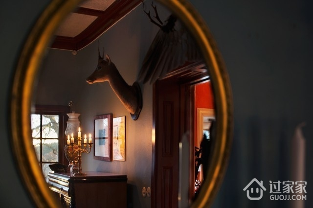 多彩北欧三居室欣赏卧室电视柜