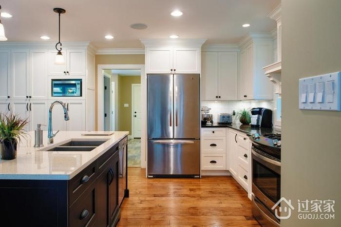 简欧风格设计图厨房走道