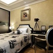117平新古典三居室欣赏卧室衣柜