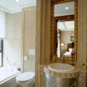 欧式风格效果套图卧室卫生间