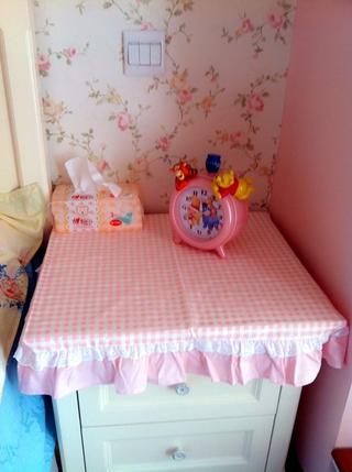 粉色田园公主屋欣赏卧室陈设