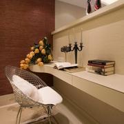 精致简约书房书架装修效果图 唯美简单空间