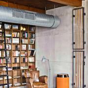 不拘泥现在的复古混搭欣赏书房