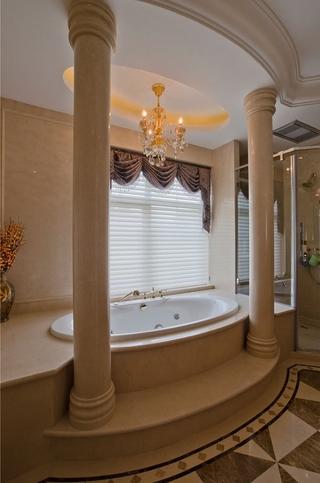 300平豪华法式别墅欣赏卫生间陈设