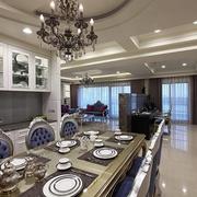 新古典160平奢华大宅欣赏餐厅