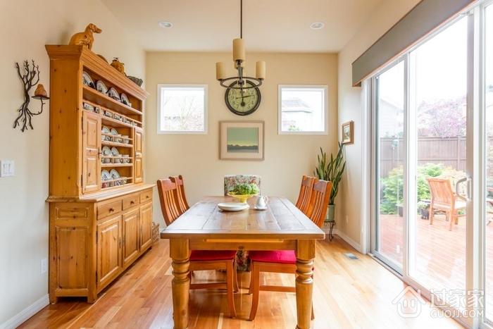 美式田园风格欣赏餐桌