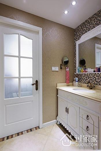 卫生间浴室柜装修效果图 低调奢华