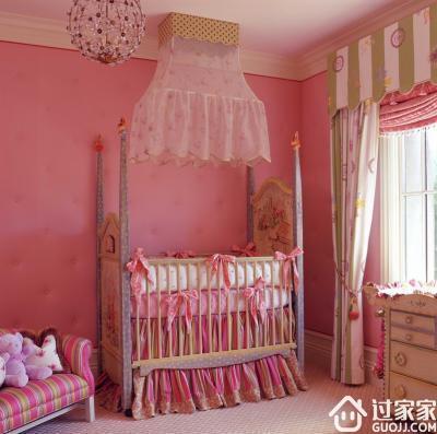 桃粉硅藻泥卧室背景墙---撩动少女心我只服它
