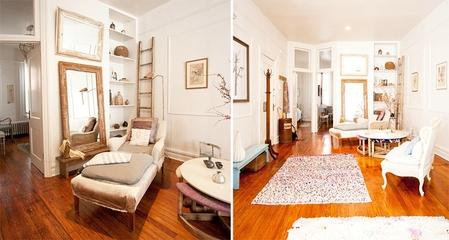 法式古典乡村风一居室欣赏书房设计