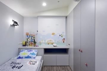 132平休闲现代雅居欣赏儿童房