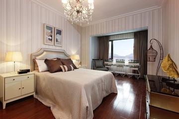 卧室灯饰装修效果图 温馨大气的房间