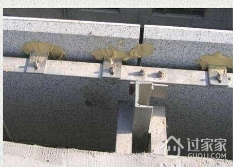 干挂石材幕墙的做法