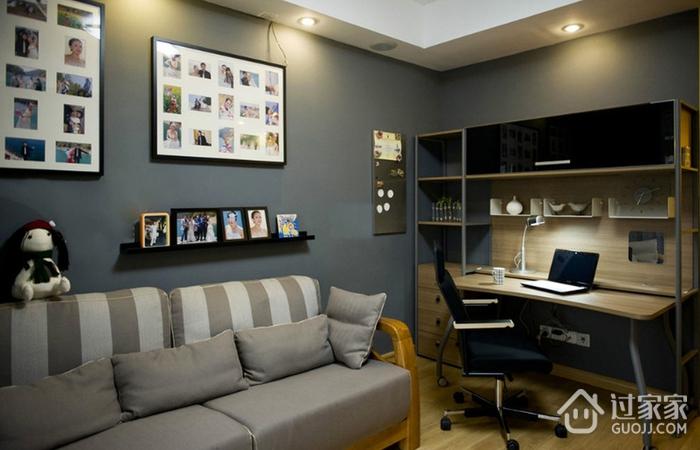 简约多彩两居室欣赏客厅照片墙