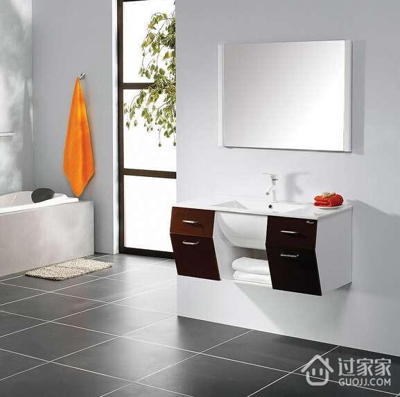 六种常见的浴室柜