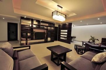 中式豪华公寓欣赏休息厅