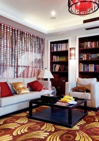混搭时尚奢华别墅欣赏书房设计