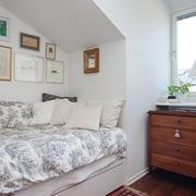 宜家风格装饰住宅效果图客房