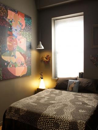 49平小户型气质装修欣赏卧室