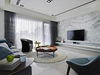简约风格小清新公寓客厅