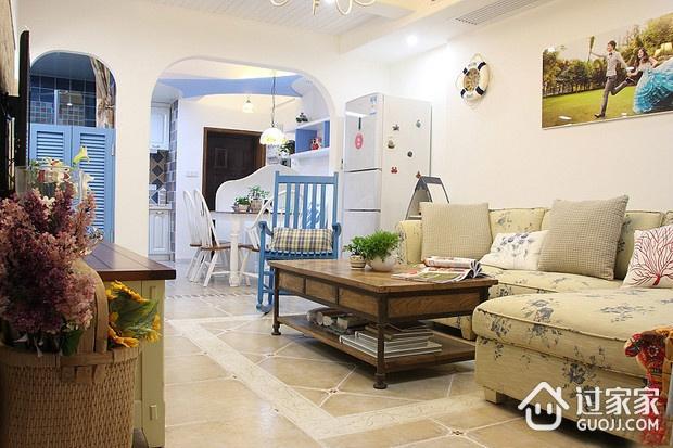 地中海小资户型住宅欣赏