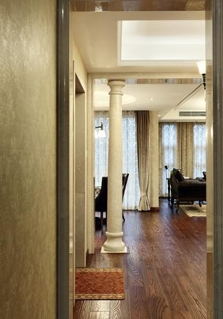 美式风格三居室过道装修效果图