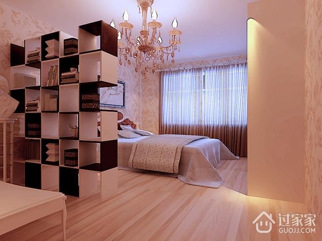 120平简约温馨四局欣赏卧室设计