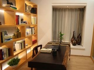 时尚简约一室一厅欣赏书房